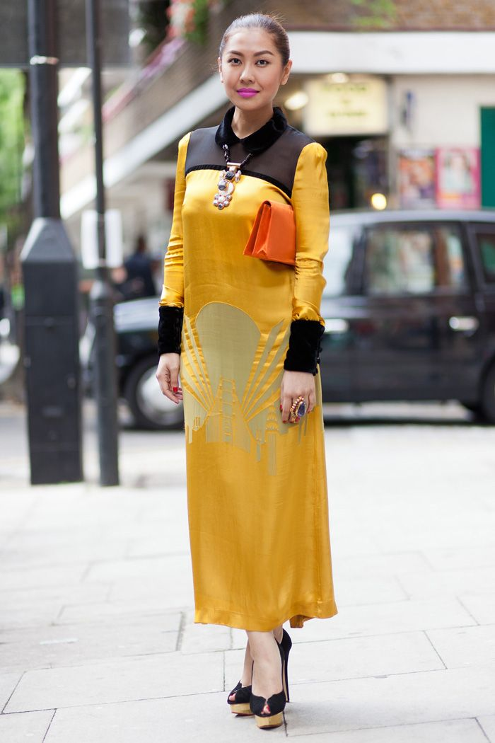 Street Style London June 2012 Liz Uy Celebrity Stylist From The Philippines Fashion