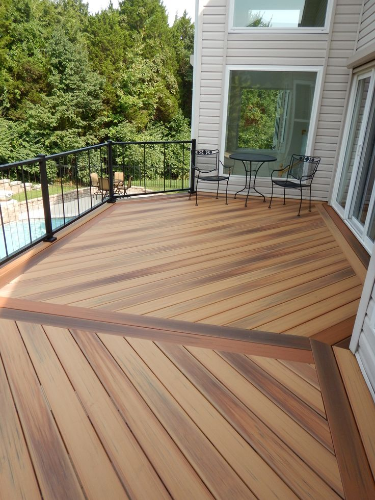 21 best decking images on pinterest decks decking and for Outdoor composite decking