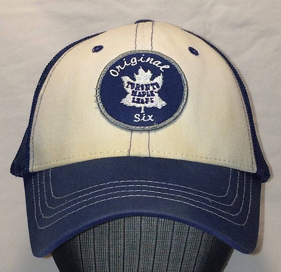 Vintage Toronto Maple Leafs Hat Original Six Embroidered Patch