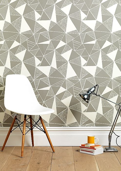 Een interieur met grafische vormen is hartstikke hip en modern op het moment. Prints, stoffen, materialen en accessoires met grafische vormen: inspiratie!
