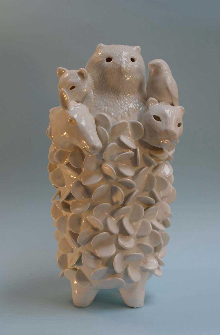 Sophie Woodrow. Ceramic. Origin 2011