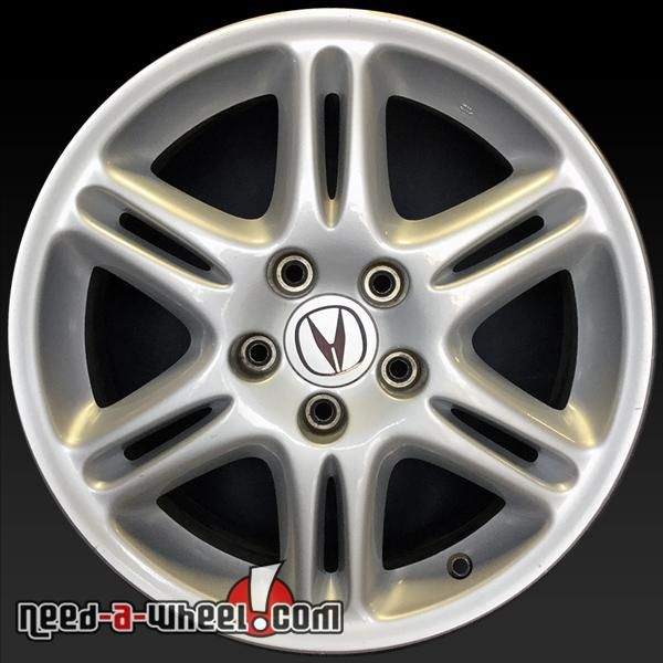 """2003 Acura CL OEM Wheels For Sale. 17"""" Silver Stock Rims"""