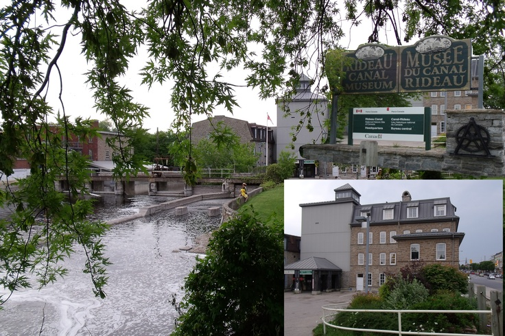 """here is the """" Rideau Canal Museum """" a good Place visiting here a """"little History""""  of Smiths Falls"""
