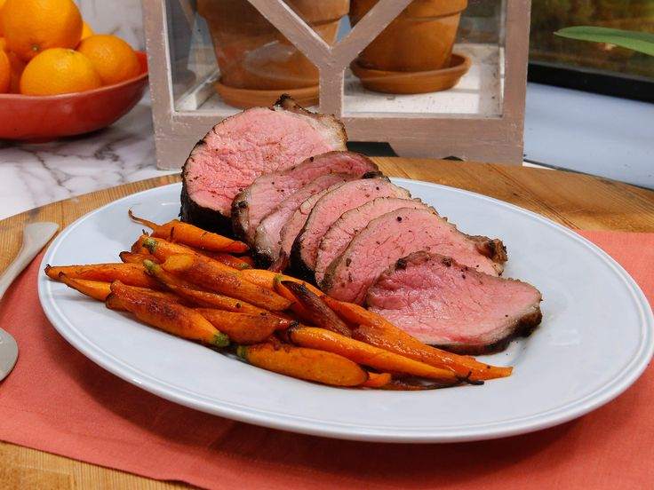 Get this all-star, easy-to-follow Porcini-Rubbed Roast Beef recipe from Jeff Mauro