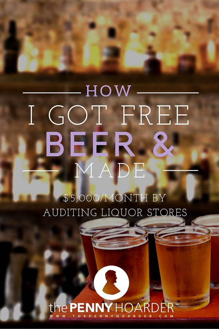 Regardless of whether they ask me for my ID, I have to buy the beer, submit the receipt, and fill out a quick report in order to get paid for the audit. All of this is done with the hopes of re-training the cashiers who aren't checking IDs before they get caught by a different kind of auditor. The kind that carries handcuffs. - The Penny Hoarder http://www.thepennyhoarder.com/i-get-paid-to-buy-beer/