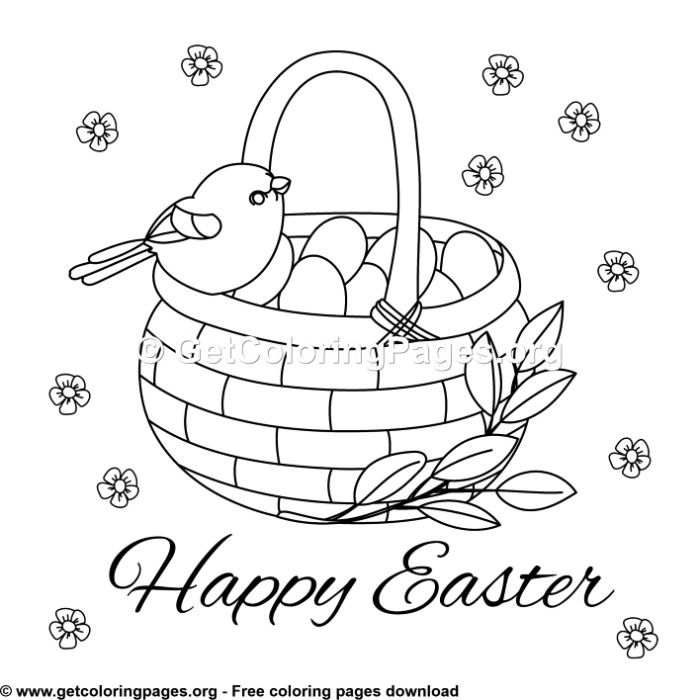 8 Cute Easter Card Coloring Pages Easter Coloring Pages Printable Coloring Pages Free Coloring Pages