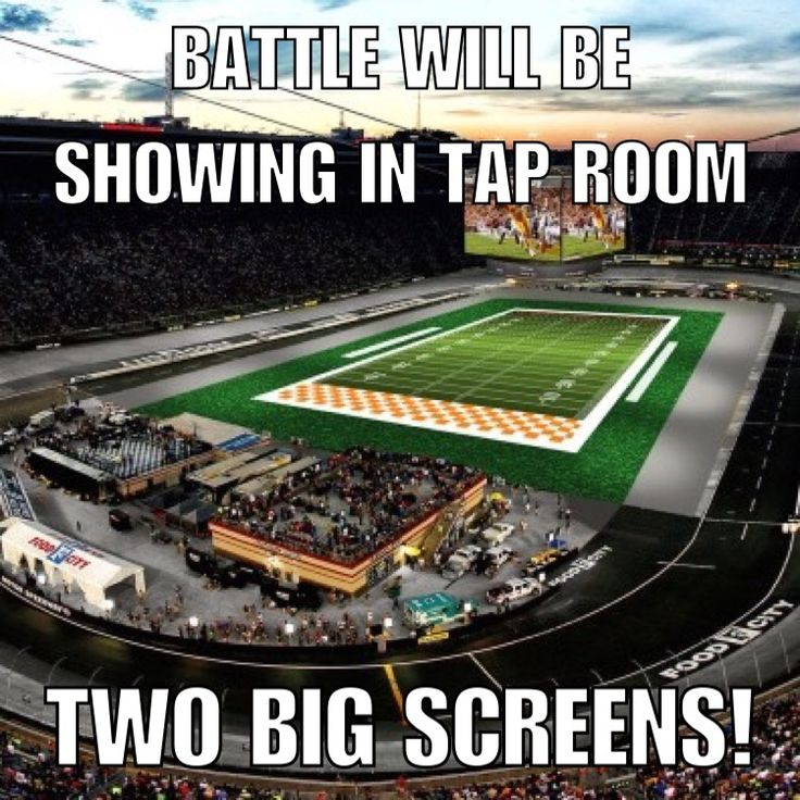 (9/10)The Battle is here and we will have it on two large screens in our tap room! Doors open at 1pm today so if you need growlers filled for parties elsewhere come on down! The Vol/Hokie/Love Child voting still on til the end of today - the Hokie Cranberry Wheat is currently in the lead! Game starts at 8pm but we will be pre-gaming all day. Bring food for yourself and/or to share around and let's cheer on the biggest college football game to date!