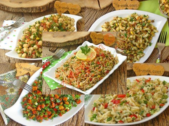 Doyurucu Salata Tarifleri nasıl yapılır? Kolayca yapacağınız Doyurucu Salata Tarifleri tarifini adım adım RESİMLİ olarak anlattık. Eminiz ki Doyurucu Salata Tar