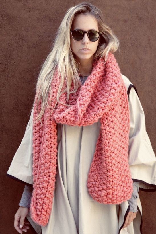 CUCHO SCARF by We Are Knitters | Project | Knitting / Scarves, Shawls, & Cowls | Kollabora