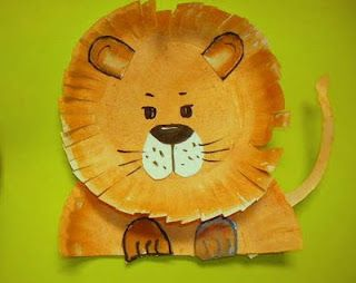 lion preschool craft class ideas kindergarten animals theme 254