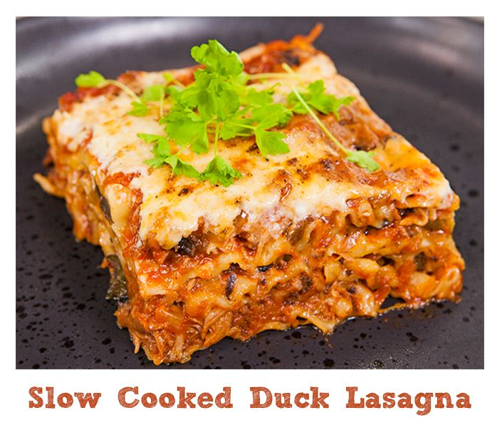 """After trying this recipe you won't be able to think """"lasagna"""" without thinking """"duck"""""""