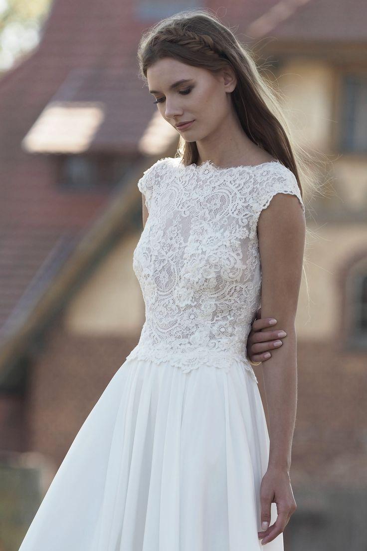 Modell Kira (827) – Silk & Lace Hochzeitskleider, wir verfolgen die neusten Tr…