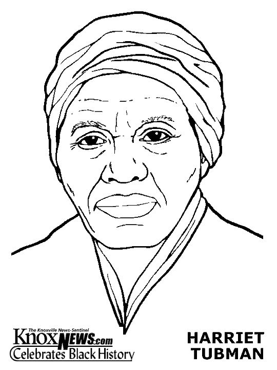 Harriet Tubman Coloring Pages Mystery of History 4