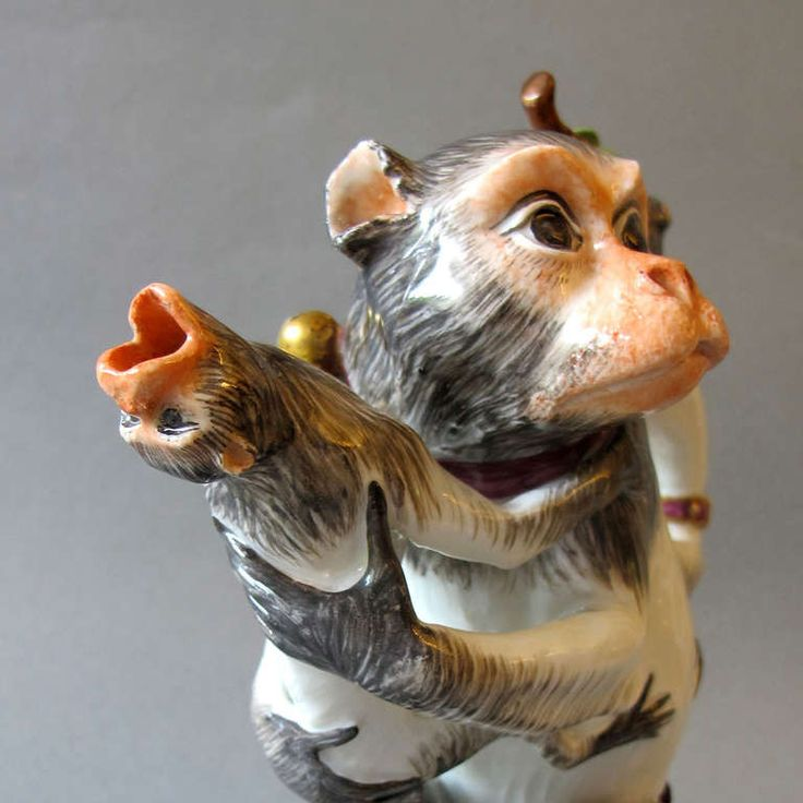 1178 best monkey porcelain figurine images on pinterest - Gorilla figurines ...