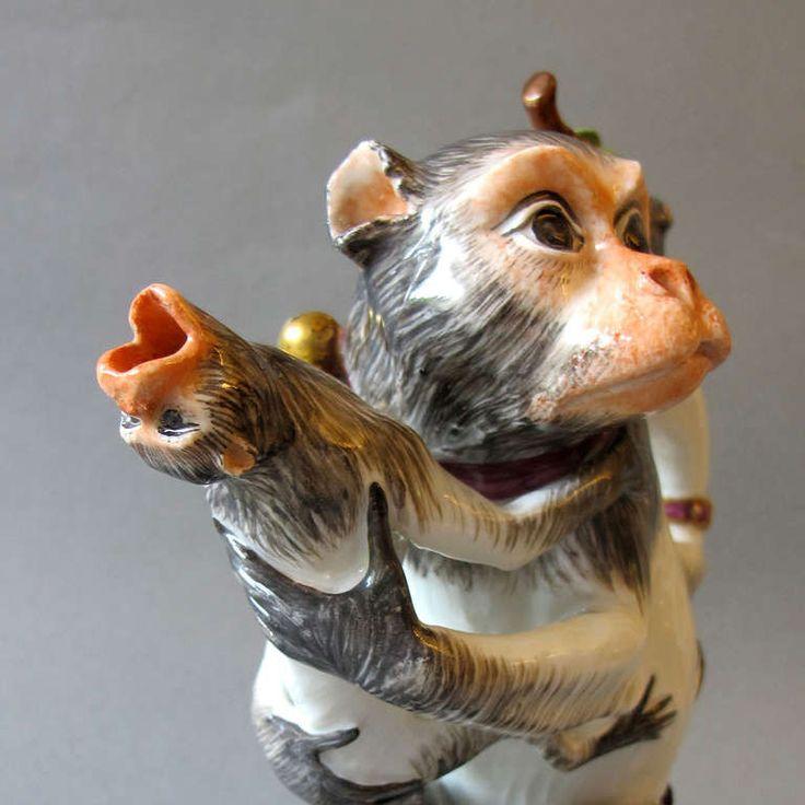 1178 best monkey porcelain figurine images on pinterest - Gorilla figurines ...