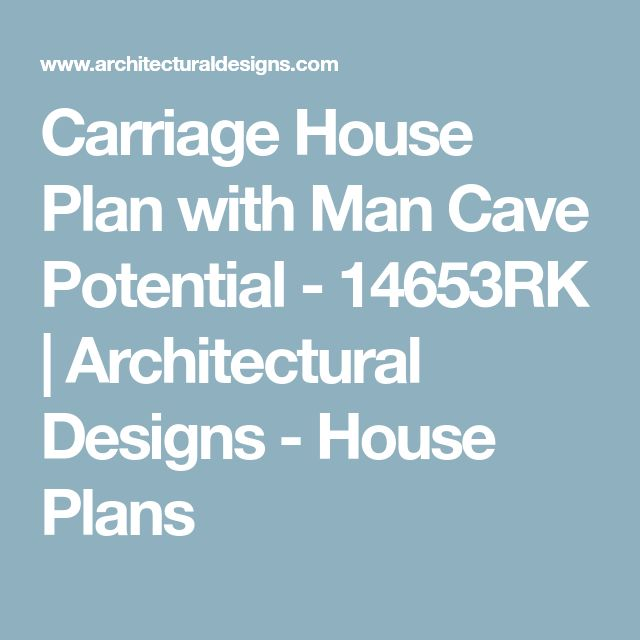 Best 25+ Carriage House Plans Ideas On Pinterest