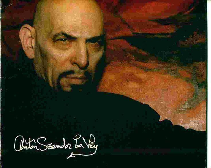 Anton Szandor LaVey - Church of Satan founder, and author of The Satanic Bible, The Satanic Witch etc.