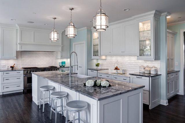 Super white is a gorgeous quartzite aka white fantasy an for Granite colors for white kitchen cabinets