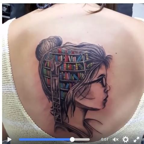 Librarian Tattoo idea