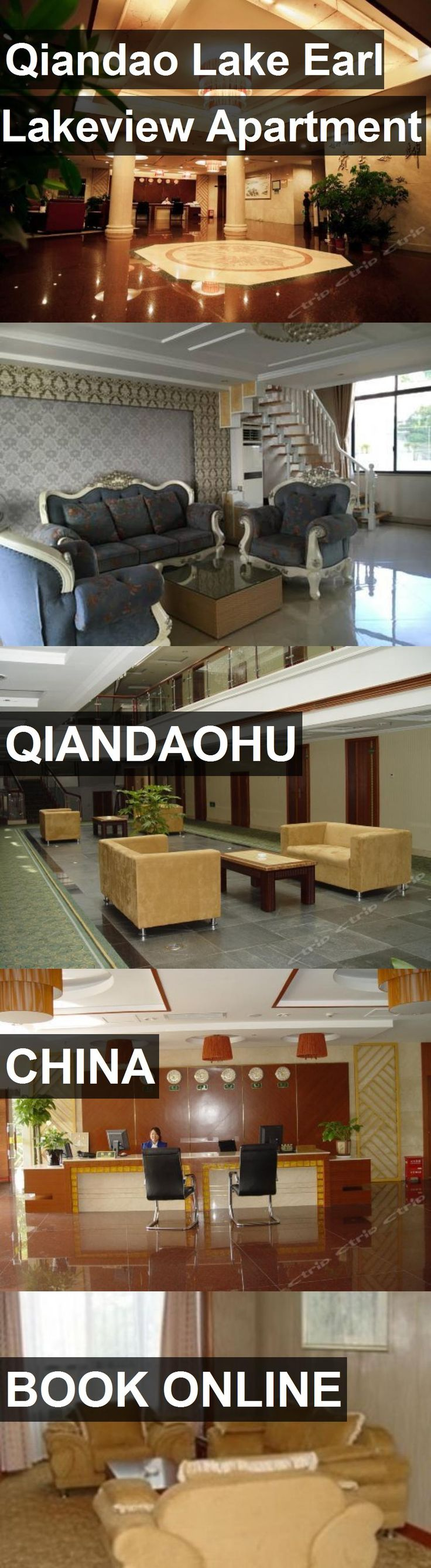 Hotel Qiandao Lake Earl Lakeview Apartment in Qiandaohu, China. For more information, photos, reviews and best prices please follow the link. #China #Qiandaohu #QiandaoLakeEarlLakeviewApartment #hotel #travel #vacation