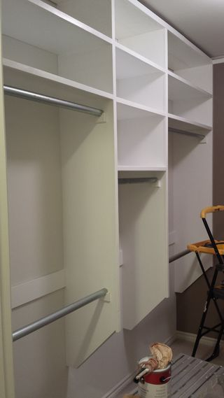 Full instructions to build your own closet organizer