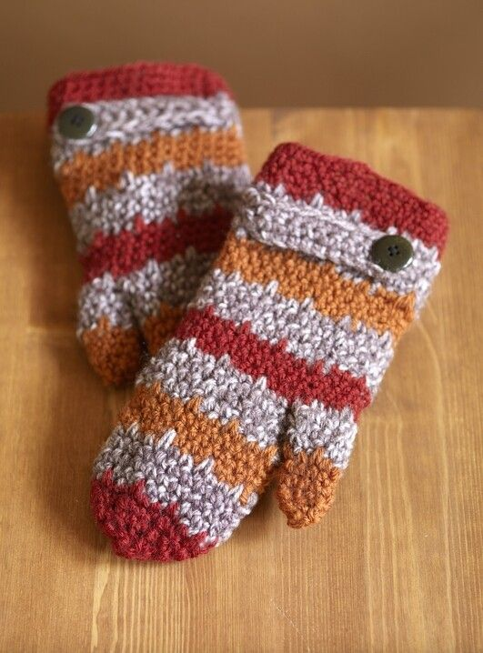 97 besten Crochet mittens/gloves Bilder auf Pinterest | Handschuhe ...