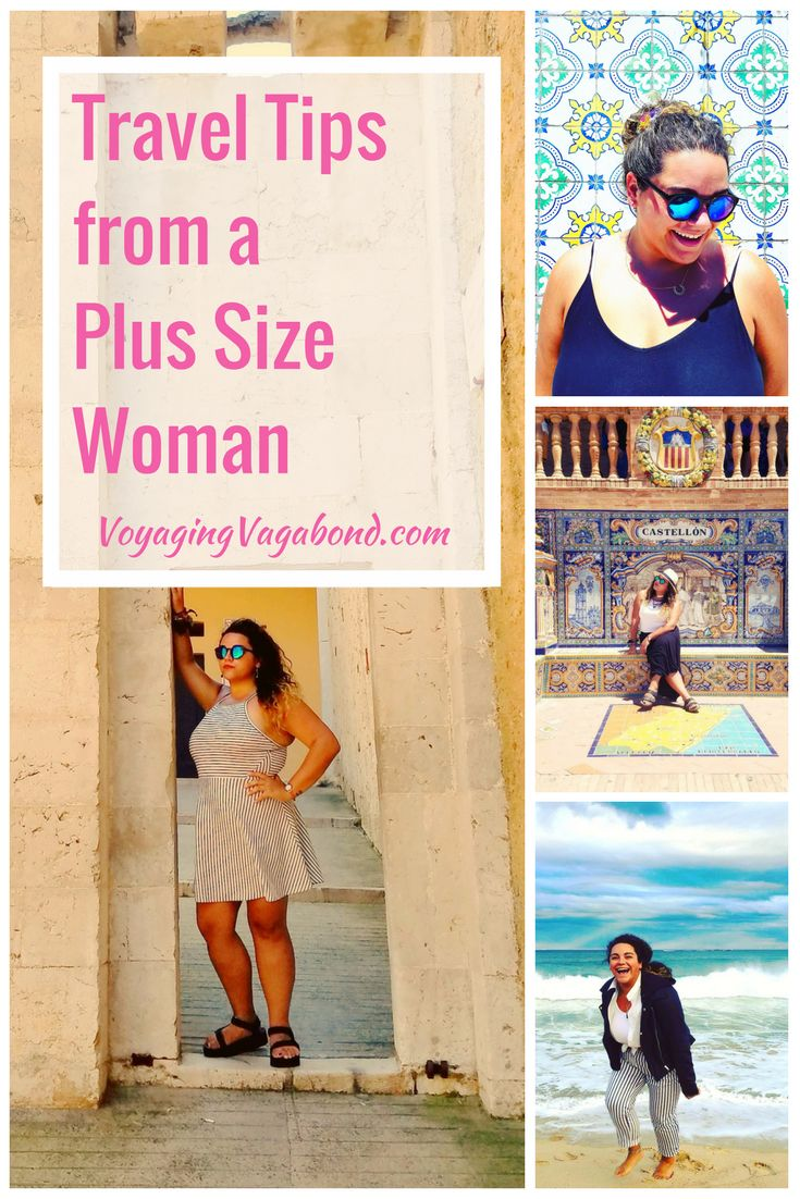 Travel Tips from a Plus Size Woman. Travel tips for all of us bigger girls that are dying to see the world!