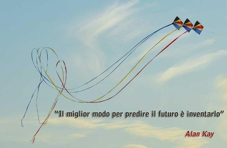 """""""Il miglior modo per predire il futuro è inventarlo"""" Alan Kay #aforismi-psicologici"""