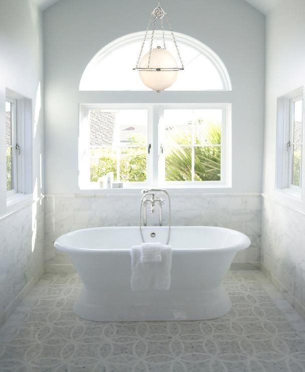 Chandelier Over Bathtub: 17 Best Images About Bathrooms On Pinterest