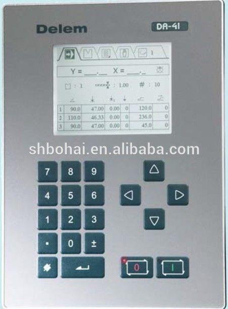 DA41CNC controller for press brake