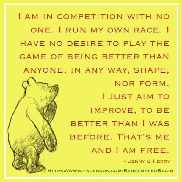 In Competition With No One Quotes I Am In Competition With No One