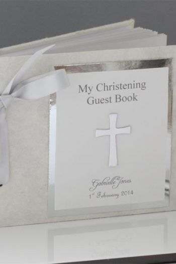 My Christening Day Personalised Guest Book 220x330 The best christening gift ideas