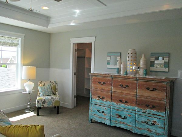 Home Tours {paint Color Scheme Ideas} Master Bedroom, Wall Color: Silver  Strand, Sherwin Williams.