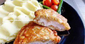 Výborné, jemné a šťavnaté kuracie rezne v nadýchanom zemiakovom cestíčku. Recept je veľmi jednoduchý, rezne sú veľmi sýte, takže...