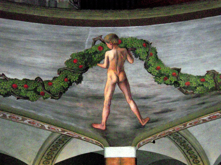Tampere Cathedral art by Hugo Simberg