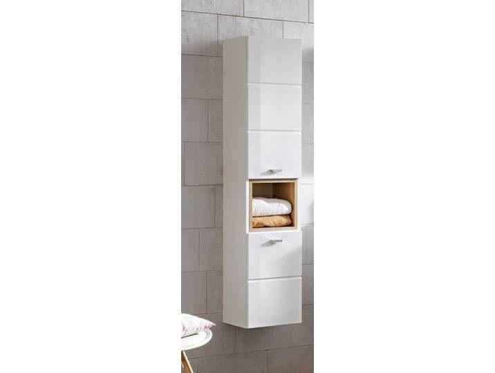 Hochschrank Eiche Nachbildung Set Badschrank Badezimmerschrank