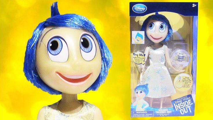 Disney Pixar Inside Out Deluxe Talking Joy Doll with a Memory Ball by Rainbow Toys TV https://youtu.be/CV7azcflBHo