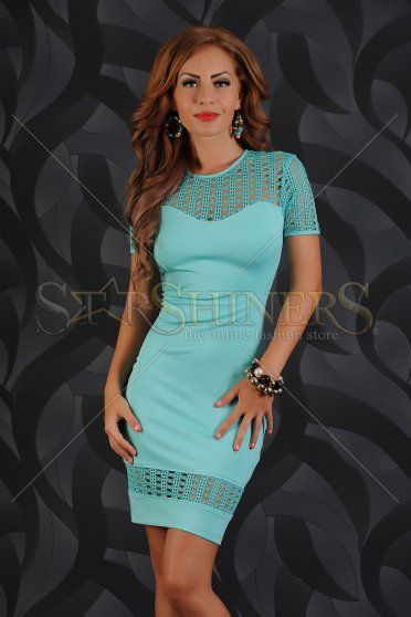 Rochie LaDonna Fascinating Turquoise