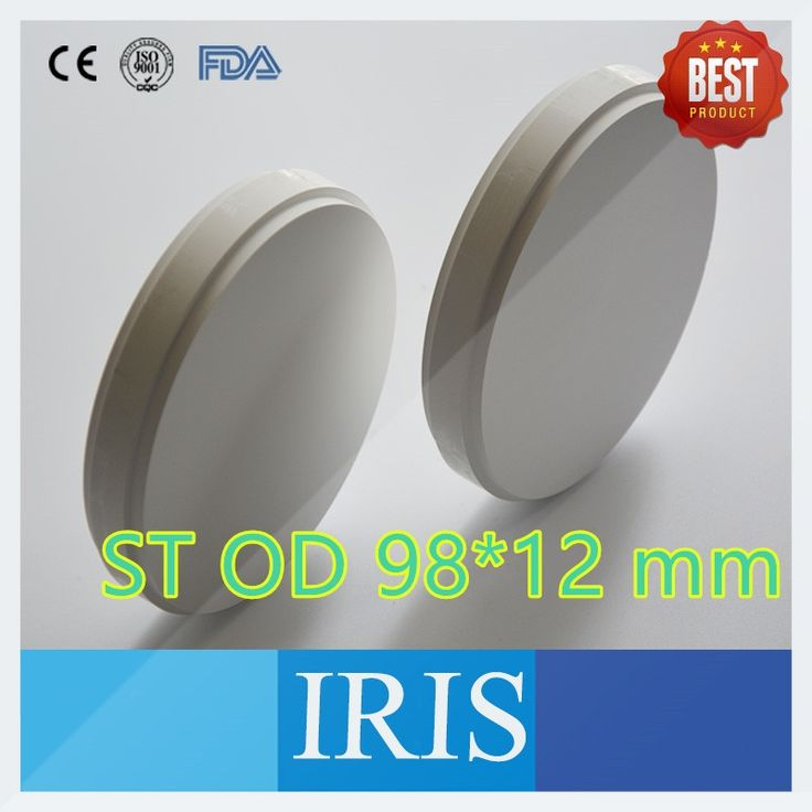 64.36$  Buy now - http://alihwk.shopchina.info/1/go.php?t=32609704028 - Promotion!!! 1 Pieces OD98*12mm ST Dental Zirconium Ceramic Blocks Super Translucent Zirconia Block For CAD/CAM Milling System  #buyininternet