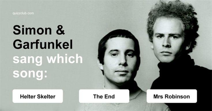 Test: The 70s & 80s Random Trivia Quiz #Test #Quiz #DoYouRemember #SimonAndGarfunkel