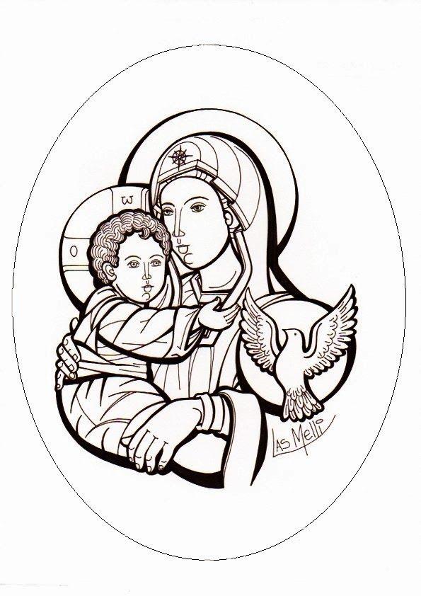 Ficha para trabajar la Natividad del Señor: J ugando con las formas (para los más ...