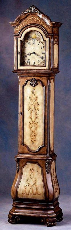 Floor clock From The Clock Depot with Westminster Chimes - FurniturePlanners.com (eventually I'm going to have to create a board for Clocks because I just love them!)