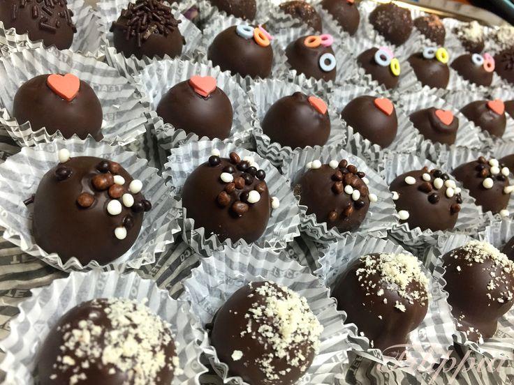 Αμυγδαλωτά Σοκολατάκια