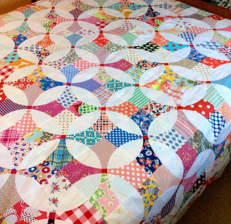 Flowering Snowball - nifty quilts