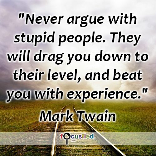 Never Argue With Stupid People Quote: Best 25+ Arguing Quotes Ideas On Pinterest