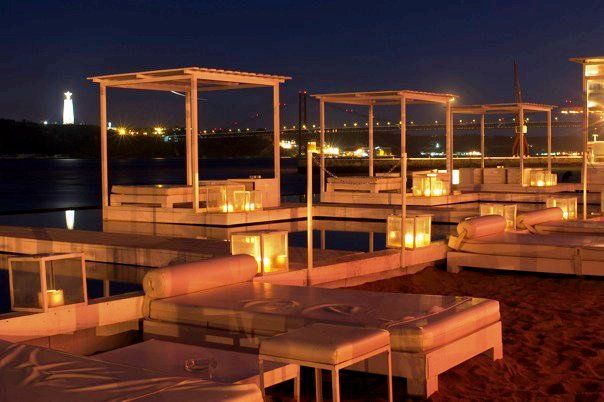 Urban Beach - Lisbon. Great club for dancing and hanging out with friends. Amazing river view.