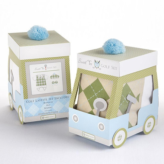 Cute Packaging for Kids Golf Clothes