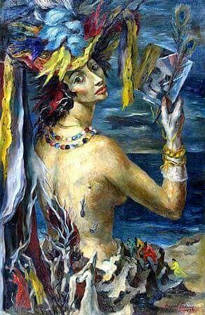 """""""Vanidad"""", Raquel Forner, 1949."""