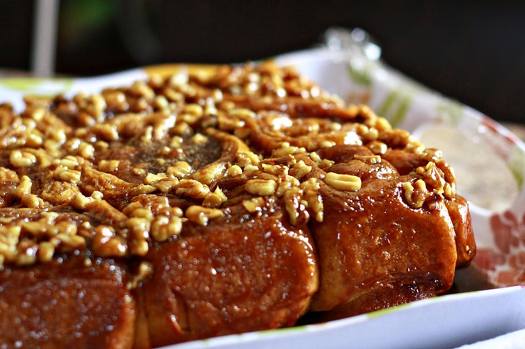 Noshings: Caramel Brioche Sticky Buns | Bake Sale | Pinterest