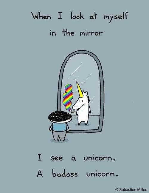 @Cake Spy: Unicorn And Glitter, Rainbow Unicorn, Bad Ass, Awesome, Unicorns Navy, Funny, B A U.S., B U.S., Badass Unicorns